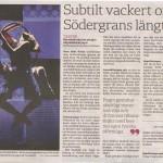 Recension Svenska Dagbladet 11/9 -09